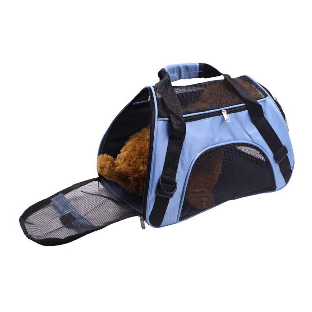 para perros transport/ín de viaje Transport/ín para mascotas plegable gatos y cachorros peque/ños de PUAO; bolso de mano para mascotas