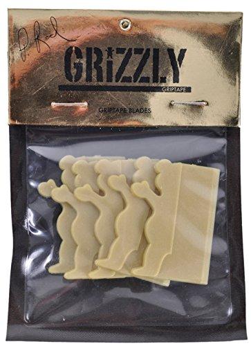 Grizzly Griptape Paul Rodriguez 5 Pack Plastic Blades - Razor Deck Grip Tape