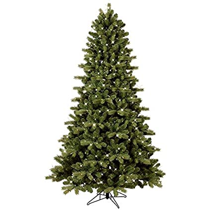 GE 7.5-ft Pre-lit Colorado Spruce Artificial Christmas Tree with 500 Multi- - Amazon.com: GE 7.5-ft Pre-lit Colorado Spruce Artificial Christmas