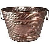 BREKX Old Tavern Copper Finish Antique Ice & Wine Bucket - Bronze