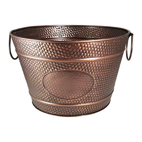 BREKX Old Tavern Copper Finish Antique Ice & Wine Bucket - Bronze by BREKX