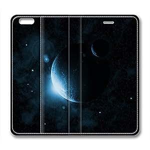 DIY Wormhole Design Leather Case for Iphone 6 Plus Mystical