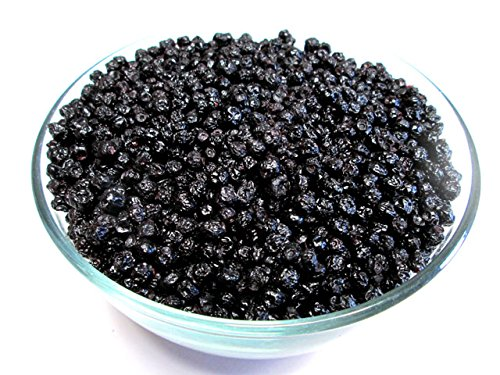 Organic Dried Wild Blueberries, 5 pound, US Grown