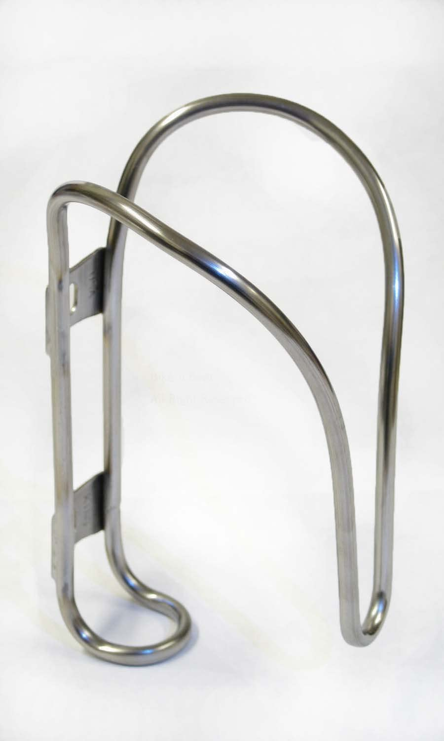King Cage Stainless Steel Water Bottle Cage Silver Andrews