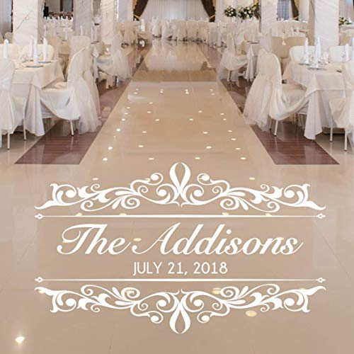 Amazon Com Vintage Wedding Decorations Dance Floor Decal