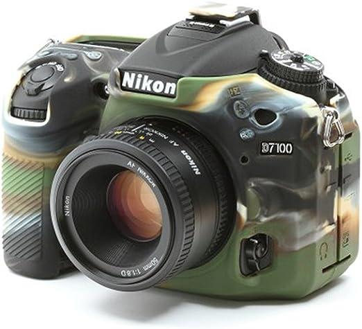 Easycover ECND7100C - Funda de Silicona para Nikon D7100, Color ...
