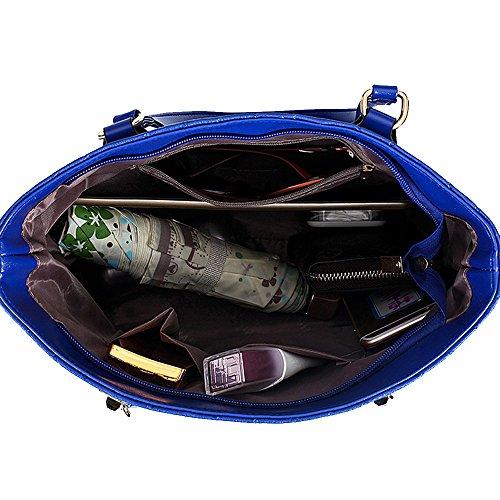 Sac Main Bleu Ensembles Bag Messenger à Sacs Sac à 6 de bandoulière Tote r0qrwRO7