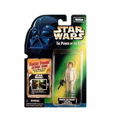Star Wars: Power of The Force Freeze Frame Princess Leia Organa in Hoth Gear Action Figure