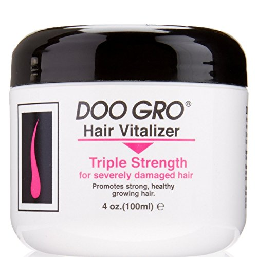 DOO GRO Hair Vitalizer Triple Strength for Severely Damaged Hair, 4 oz (Pack of 12)