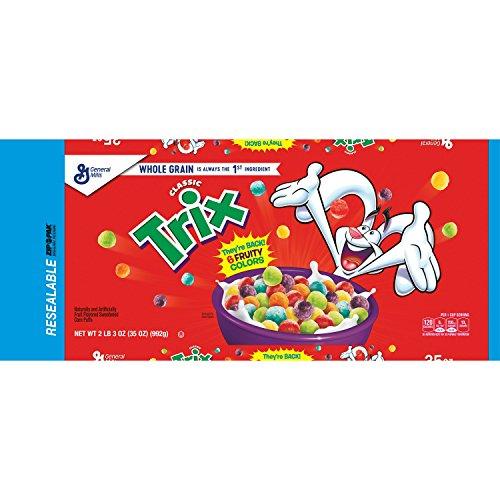 Trix Classic Cereal 35 oz. Bag