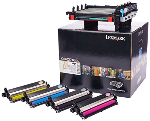 Lexmark C540X74G Black & Color Imaging Kit