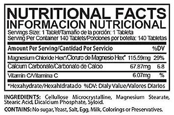 Magnesium Chloride Tablets - CLORU-MAG PLUS 2 Pack - (CLORURO DE MAGNESIO)