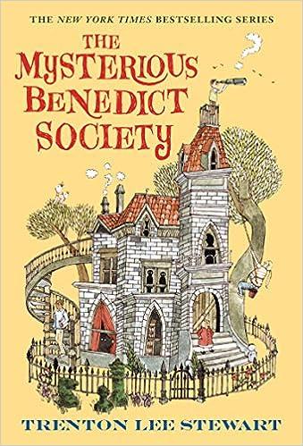 The Mysterious Benedict Society: Trenton Lee Stewart, Carson