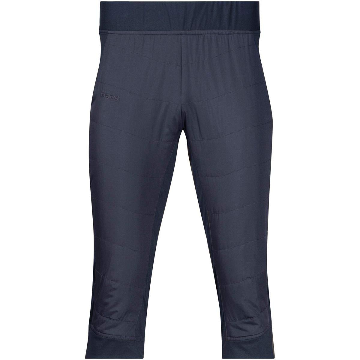 Bergans Stranda Hybrid 3/4 Pants Men Dark Navy/Dark Navy Mel/Dark FogBlau 2018 Hose kurz