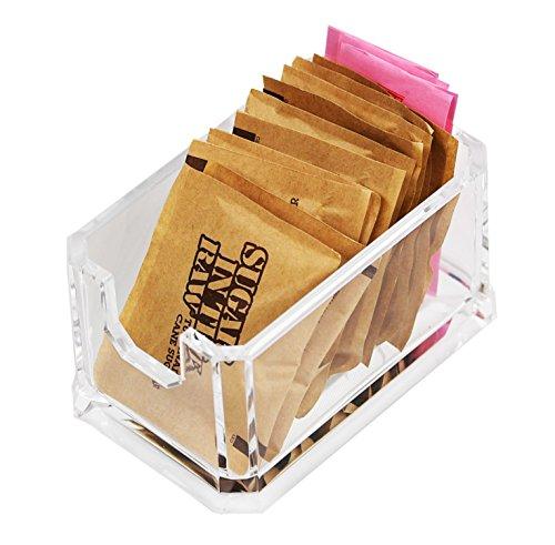 ARAD Packet Sugar Holder, Storage Countertop Container, Sugar Packet Storage, Packet Dispenser Alternative, Sugar Packet Holder, Sweetener Holder, Sugar Caddy, Sugar Bag Holder ()