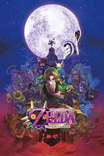 The Legend of Zelda Majoras Mask Nintendo Fantasy Video Game Cool Wall Decor Art Print Poster 24x36