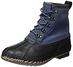 Sorel Men's Cheyanne Ii Short Canvas Collegiate Navyquarry Boot
