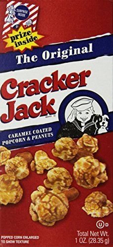 Cracker Jacks Original 30 Boxes of 1 Oz Caramel Coated Popcorn & Peanuts Prize in Every Box