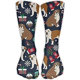 Amazon.com: English Bulldogs Xmas Holiday Fashion Warm
