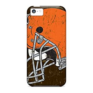(COE1278Whkp)durable Protection Cases Covers For Iphone 5c(cleveland Browns)