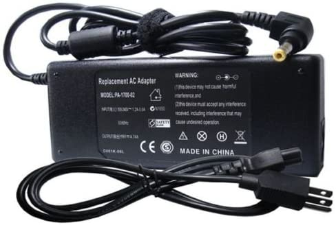 AC Adapter Power Cord for Westinghouse UW40T3PW 40 HDTV LED TV