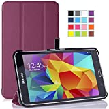 Galaxy Tab A 7.0 Case - Tisuns Galaxy Tab A 7.0 Leather Case - Ultra Slim Lightweight Stand Cover Case For 2016 Edition Samsung Galaxy Tab A 7.0 SM-280 / SM-285 Tablet - Purple