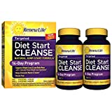Renew Life - Diet Start Cleanse - eliminate toxins and diet cleanse - 56 vegetable capsules - 14 day program