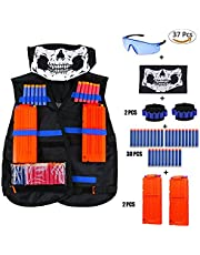 kitchenLS666 Kit Gilet tattico per Set di Gilet Tattici Nerf Elite N-Strike Elite Series