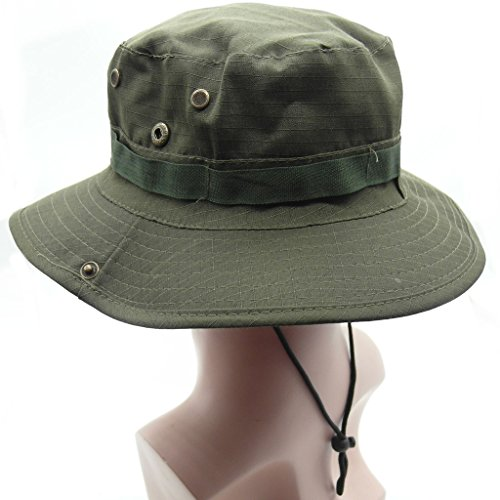 Olive Camouflage Hat - 8
