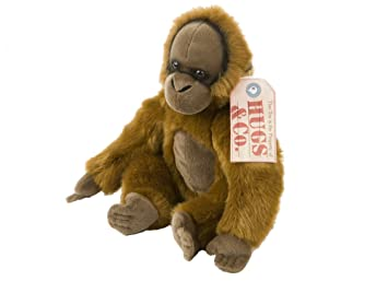 Animal Planet - Peluche Orangutan 30cm - Calidad super soft