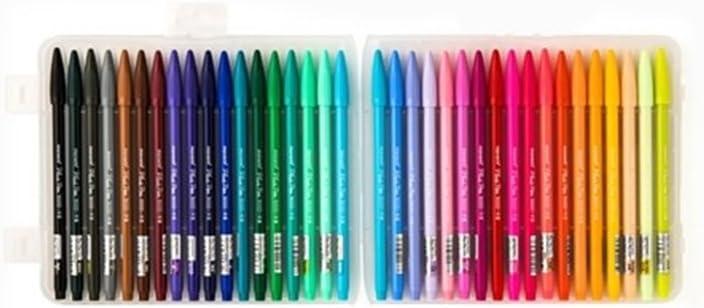 Monami Sign Pen Super Marker Decorat Sketch Coloring Water-Base Smooth 1 Dozen