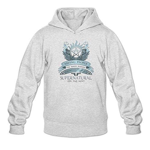 Men's Supernatural Family Business Saving People Hunting Things Hoodie Sweatshirt