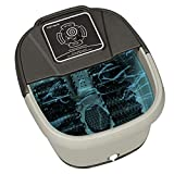 Yosager Foot Spa Bath Massager with Heat,Rolling Massage,Digital Temperature Control LED Display,Portable