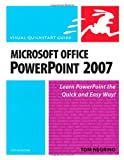 Microsoft Office PowerPoint 2007 for Windows, Tom Negrino, 0321498402