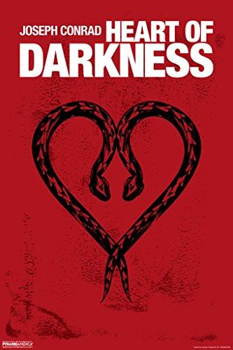 Amazon Heart Of Darkness Joseph Conrad Snakes Art Print Poster
