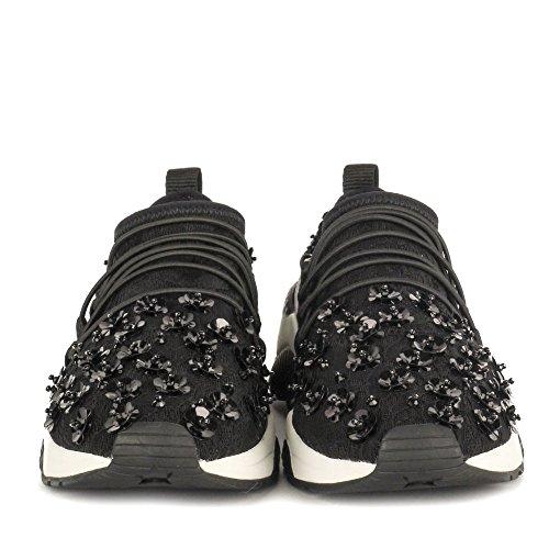 Ash Zapatos Miss Lace Zapatillas Mujer Negro
