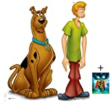 Fan Pack - Scooby-Doo and Shaggy Cardboard Cutout / Standee Set - Includes 8x10 (20x25cm) Photo