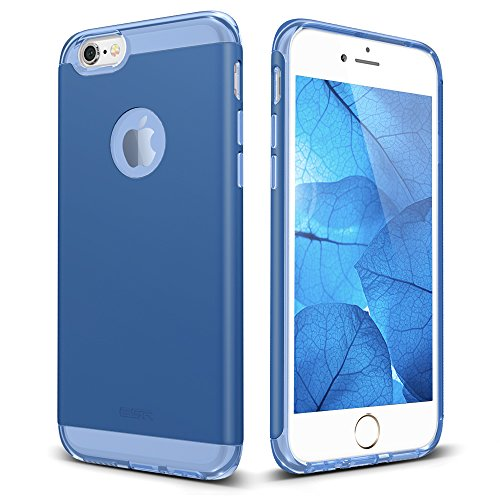 ESR iPhone 6S Case,iPhone 6 Case, Yippee Colour Plus Series Protective Bumper Case [Shock Absorbent] [Anti-Scratch] Back Cover for 4.7 inches iPhone 6 (Navy (Blue Back Case)