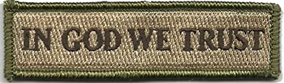 In GOD We Trust - Tactical Morale Patch - Multitan by Gadsden and Culpeper