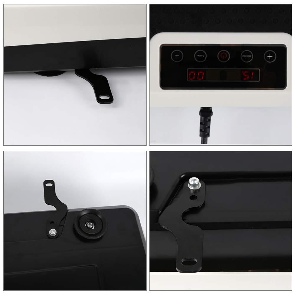 Turefans 4D Luxuri/ös Vibrationsplatte,LCD-Anzeige,3 Motoren Mit Fernbedienung 450 W + 300 W + 250 W