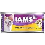 IAMS Pate Kitten Wet Cat Food, Chicken, 3 oz. (Pack of 24)