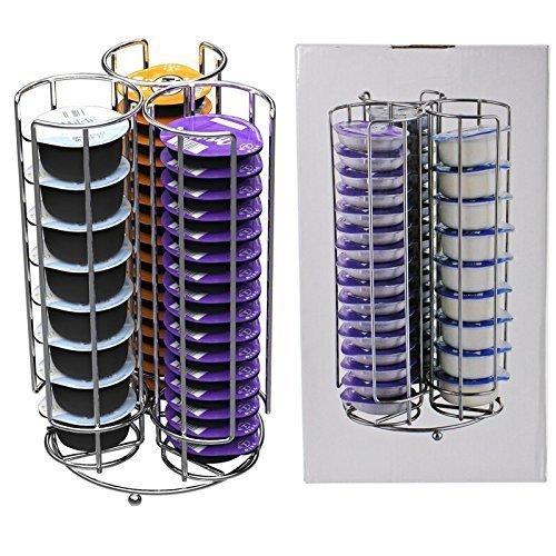 Spares2go 48 T-Disc Rack Soporte para Bosch Tassimo máquina de café Cápsula Cápsulas (48 cápsula Torre Dispensador): Amazon.es: Hogar