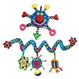 The Manhattan Toy Company Whoozit 6 In & Whoozit Spiral Multi Color Unisex Kids Travel Toy