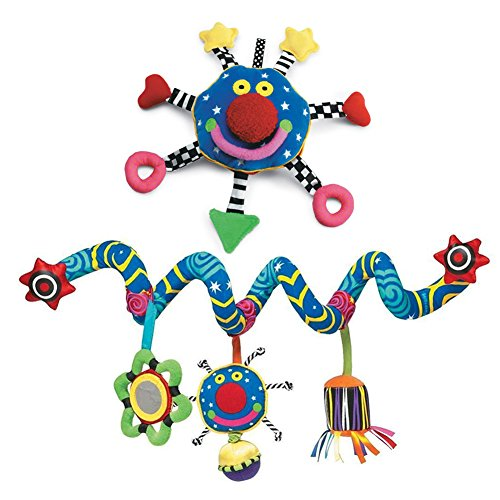 The Manhattan Toy Company Whoozit 6 In & Whoozit Spiral Multi Color Unisex Kids Travel Toy by Mahattan Toy