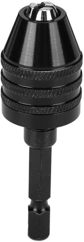 Hilitand 6,5 mm Bohrfutter Sechskantschaft Elektrischer Schraubendreher Bohrfutter Adapter Quick Change Converter H01334