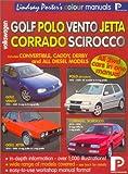Volkswagen Golf, Polo, Scirocco, Corrado: Workshop Manual (Lindsay Porter's Colour Manuals)