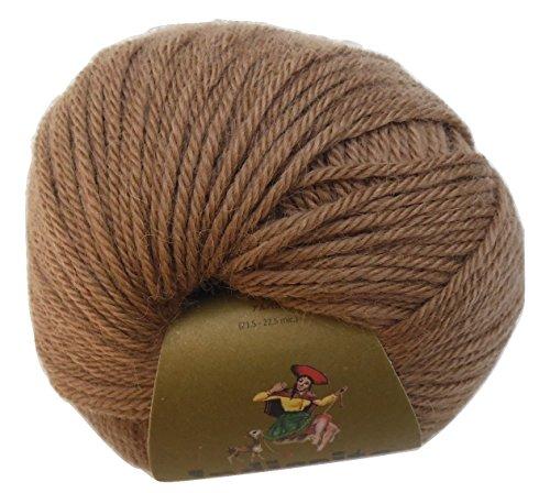 Set of 03 100% Luxurious Baby Alpaca Yarn Skein - Indiecita - Beige 204 - 372 (Indiecita Baby Alpaca)