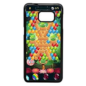 Durable Material Phone Case With Angry Birds Stella Image On The Back For Samsung Galaxy S6 Edge Plus