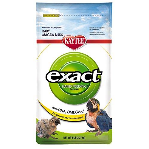 Kaytee Exact Hand Feeding for Baby Macaws, 5-lb bag (Formula Kaytee)
