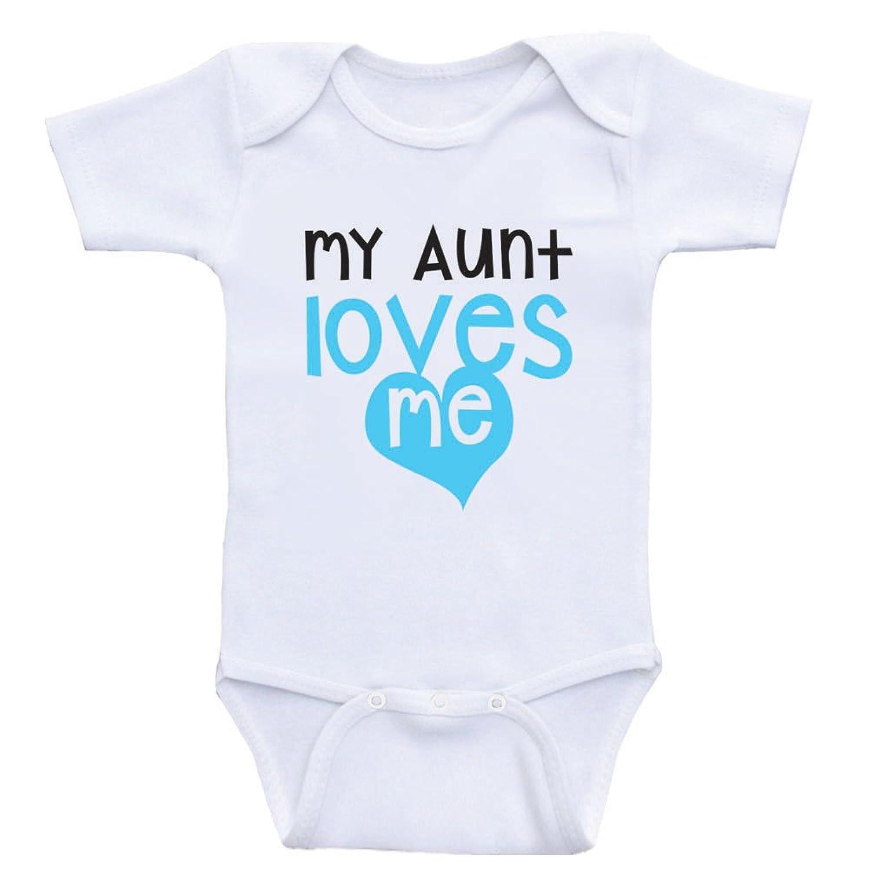 "Amazon Aunt Baby esies ""My Aunt Loves Me"" Cute Baby e Piece"
